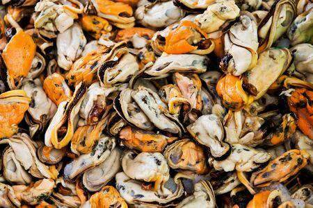 amoniaco: Mejillón en el mercado, los alimentos para el fondo