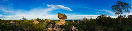 atmospheric phenomena: Pa Hin Ngam National Park,Thailand Stock Photo