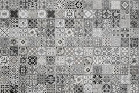 azulejos de cerámica patrones de Tailandia Foto de archivo