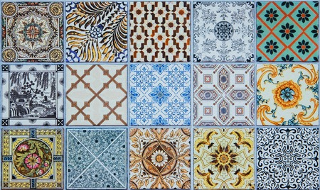 glaze: ceramic tiles patterns from Portugal.