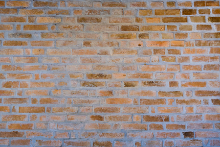 Brick wall pattern on the background