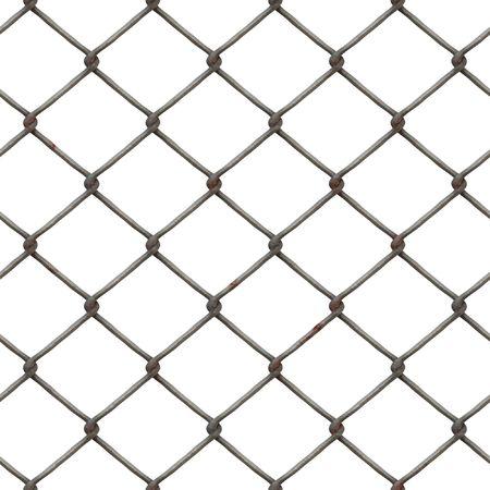 netting: Wire netting - seamless tile Stock Photo