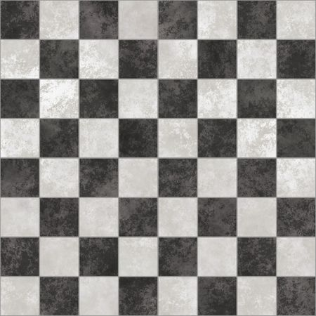 freetime: Marble chessboard. Seamless tiling possible. Illustration.