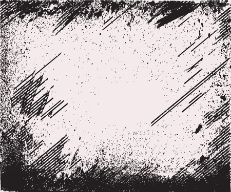 Texture Overlay For Your Design. Black and white grunge background. vector illustrations Illustration