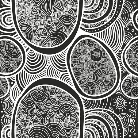 Abstract vector seamless texture. Wallpaper, backgrounds, decoration, fabric for your design.