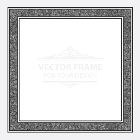 certificate template: Vintage vector set retro frame, cards. royal engraving design labels advertising place for text.
