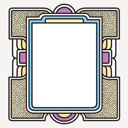 minimalistic: Vector frame Art graphics. dynamic frames stylish geometric white background. element for design invitations, gift cards, flyers brochures.