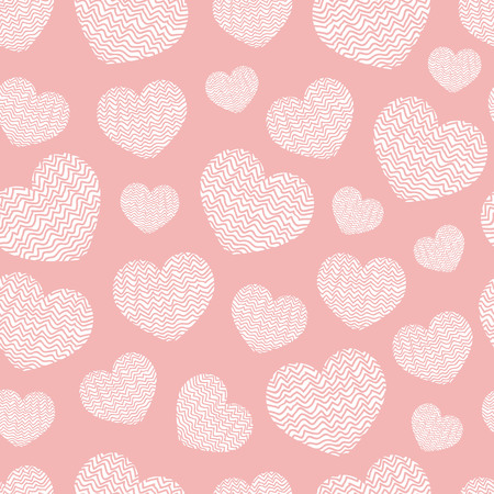Abstract geometric pattern heart. Romantic Valentine's Day theme with. Set of love vector backgrounds