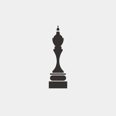 Graphic Simple Black And White Chess Queen A Symbol Of Victory