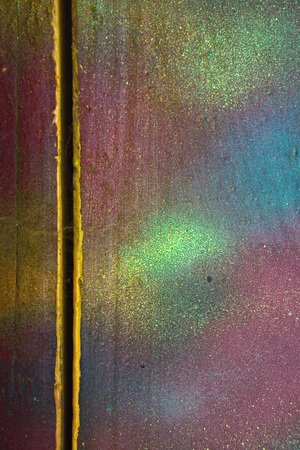 Multicolored grunge texture with shabby paint. Colorful retro, vintage background with different layers of paints. Stock photos for design. Stock fotó