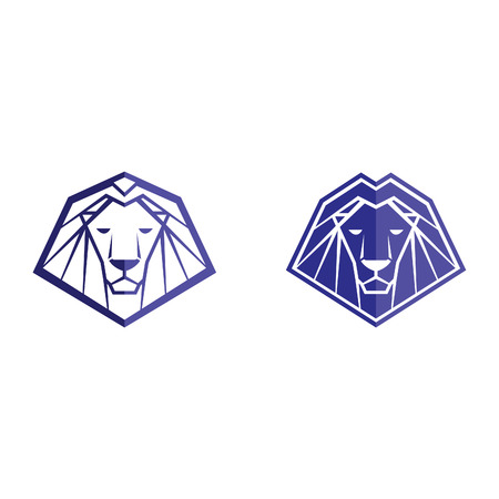 lion icon lion symbol lion sign lion template king of the jungle lion vector abstract lion