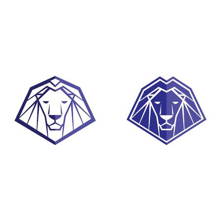 lion: lion icon lion symbol lion sign lion template king of the jungle lion vector abstract lion