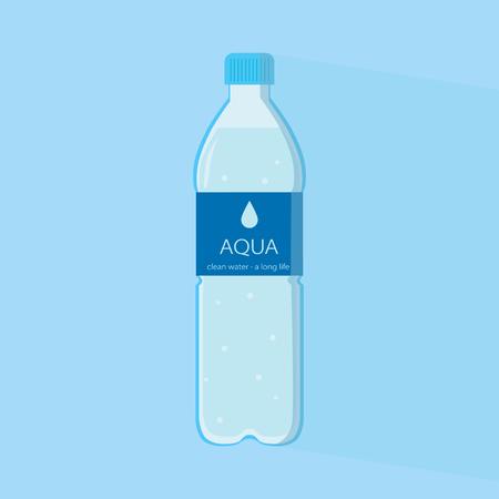 Clean water in a bottle. Standard-Bild - 121825965