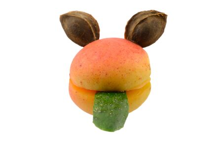 Smilie from fruit and vegetable