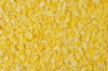 semifinished: Corn-flakes not demanding cookings Stock Photo