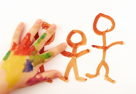 human's arm: Child