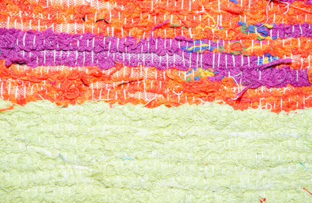 texture of rough  cotton fabric as natural background