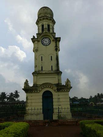 watchtower: A watchtower in royal garden