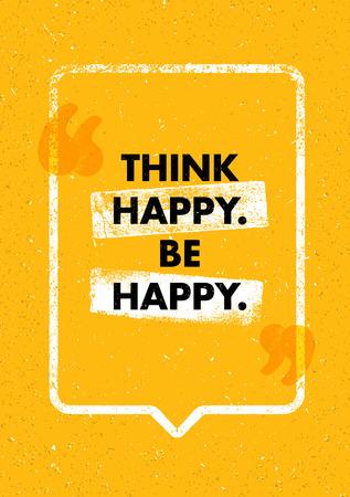 楽しいことを考えます。感動の創造的な動機の引用。ベクトル タイポグラフィ バナー デザイン コンセプト  イラスト・ベクター素材