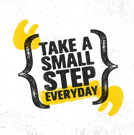 Inspirierende kreative Motivation Zitat Poster Standard-Bild - 84424853