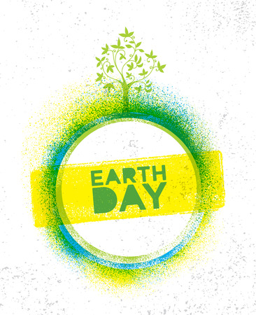 Earth Day template design