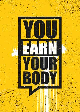 Creative Strong Vector Rough Typography Grunge Wallpaper Poster Concept