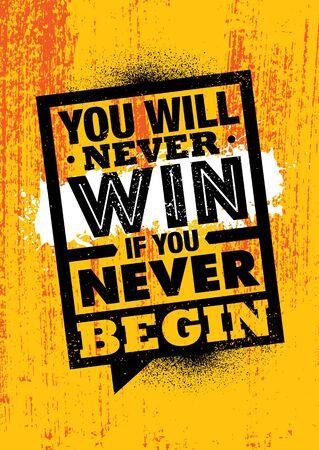 Creative Strong Vector Rough Typography Grunge Wallpaper Poster Concept Archivio Fotografico - 137368069