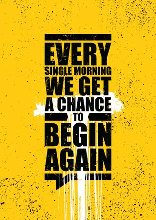 Creative Strong Vector Rough Typography Grunge Wallpaper Poster Concept Vector Illustration