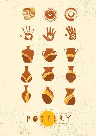 Handgemaakte keramiek klei aardewerk workshop