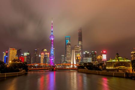 shanghai: shanghai cityscape