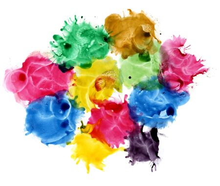 Abstract colored backgrounds.