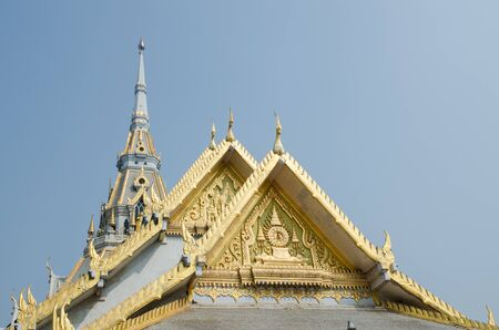chachoengsao: Measured with respect to Thailand ,watsothron chachoengsao Stock Photo