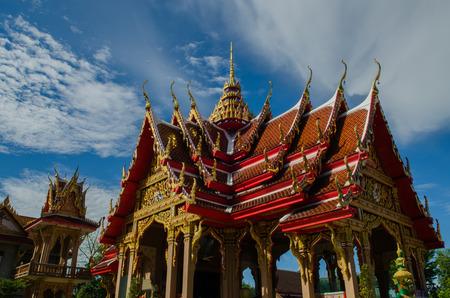 nontaburi: Wat thai in sainoi nontaburi, thailand.