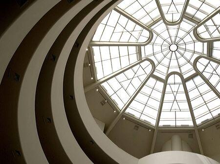 Ceiling of Guggenheim Museum, New York City