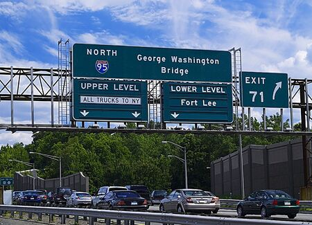 Traffic on Interstate