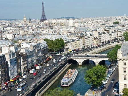 notre dame: Paris from Notre Dame