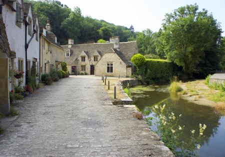 Cotswold village of Castle Combe, UK