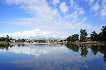 The beautiful affluent community of Scottsdale, Arizona