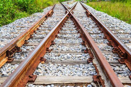 Railway junction Stock Photo - 16524281