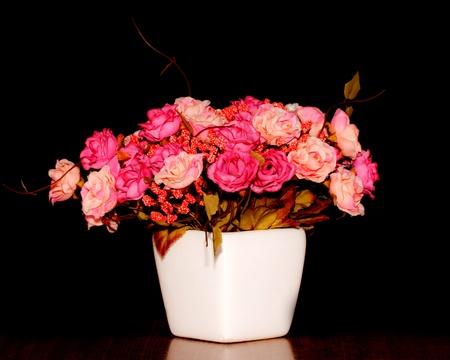 ronantic: beautiful  blooming flower in vase