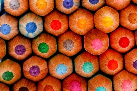 sharp of colorful crayon Stock Photo - 16365193