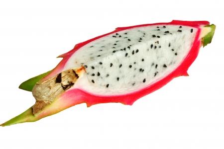 dragonfruit: dragon-fruit  on white background