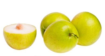 monkey apple  on white background Stock Photo