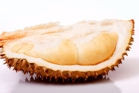 freshness of Durian flesh on peel