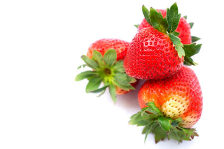strawberrys: Strawberrys in isolated  on white background