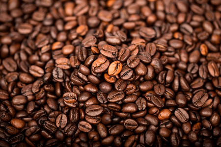 background make with coffee bean