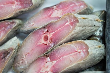dried: Dried fish