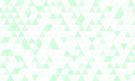 green background: Green triangle background pattern Illustration