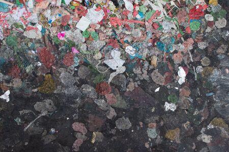 dirty: Dirty sidewalk with gums