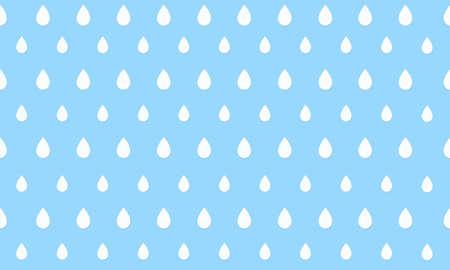 raining background: Illustration of raindrops Stock Photo